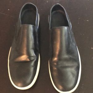 Vince leather slip ons